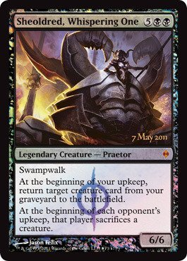 Magic The Gathering - Sheoldred, Whispering One - Prerelease & Release Promos - Foil