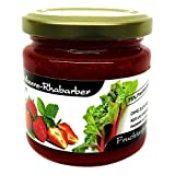 Xylit Fruchtaufstrich 'Erdbeere-Rhabarber' ohne Zuckerzusatz, nur mit Xylit gesüßt, 75% Fruchtanteil (mehr...