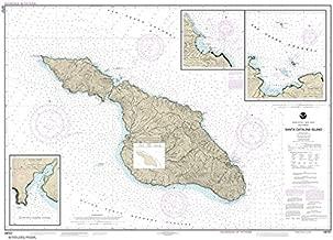 Paradise Cay Publications NOAA Chart 18757: Santa Catalina Island; Avalon Bay; Catalina Harbor; Isthmus Cove, 33.9 X 45.5, TRADITIONAL PAPER