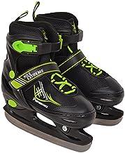 NH7104 IJsschaatsen, hockey sport, wintersport, groen
