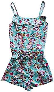 GIRLS SUMMER PLAYSUIT Romper Jumpsuit Summer Outfit Bodysuit Lightweight
