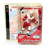 McFarlane Toys NHL Sports Picks Series 6 Action Figure Nicklas Lidstrom (Detroit Red Wings) White Jersey