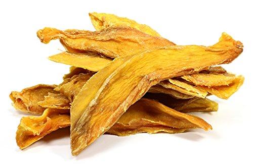 Rapunzel mangues séchées, 1kg | organique, naturelles, sans additifs et sucre | 100% mangue | commerce équitable du Burkina Faso