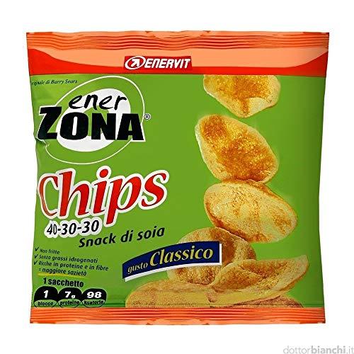 Enervit EnerZona Chips 40-30-30 Gusto Classic - 14 Sacchetti da 23 g