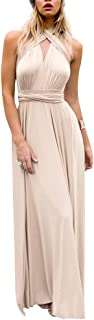 nude chiffon dress