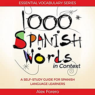 1000 Spanish Words in Context cover art