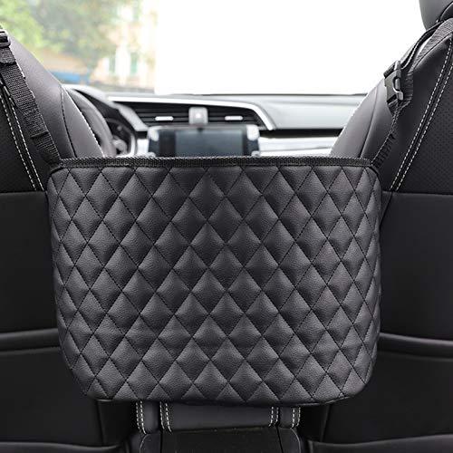 wgyc Car Seat Storage and Handbag Holding Net Car Net Pocket Handbag Holder Hanging Storage Bag Between Car Seats
