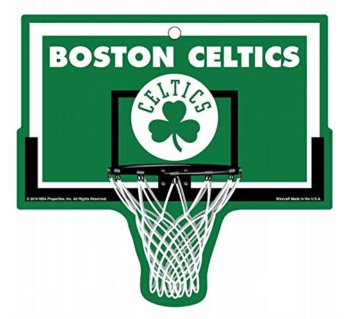 WinCraft Boston Celtics Basketball Plastic Hoop Sign NBA