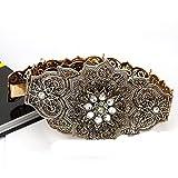 Cinturón caftán marroquí de Color dorado para mujer, cinturón de cintura, joyería de boda, regalo nupcial 2021