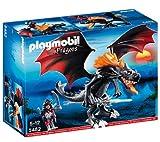 PLAYMOBIL Dragons Giant Battle Dragon with LED Fire Figura de construcción - Figuras de construcción (Multicolor,, 5 año(s), 12 año(s), Niño, 300 mm)