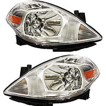 For 2007-2012 Nissan Versa Headlight Head Lamp Driver Side LH