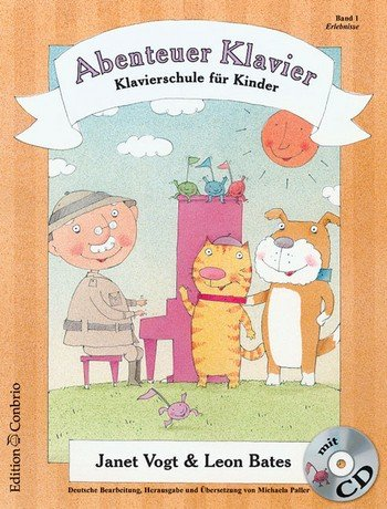 Abenteuer Klavier Band 1 (+CD) :
