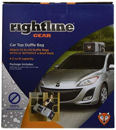 Rightline Gear(ライトラインギア) カートップ ダッフルバッグ 完全防水 UV保護