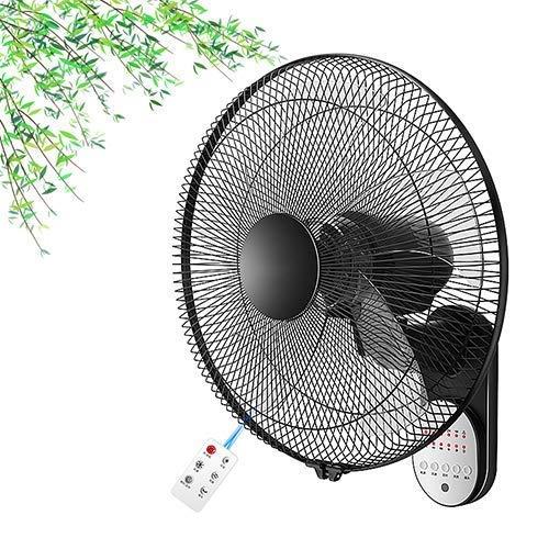 16/18 in Wandventilator, beweglicher Kühlventilator, Lärm Low, Weitwinkel Luftversorgung, einstellbare dritte Geschwindigkeit,Mit Fernbedienung,41cm * 50cm