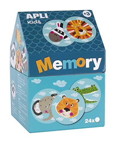 APLI Kids Memory casita Safari (16820)