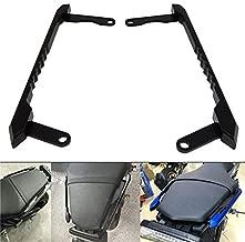 PACASK Motorcycle Rear Grab Bars Rear Seat Pillion Passenger Grab Rail Handle For Yamaha MT-09 MT09 FZ-09 MT FZ 09 2014 2015 2016 (Black)
