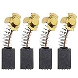 The Lord of the Tools - 2 pares de escobillas de carbón para motor de recambio de taladro con cable compatibles con Titan TTB653SDS 1500W SDS Plus, 6 x 10 x 16 mm