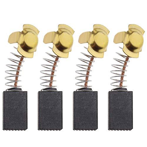 2 pares de cepillos de carbón para motor 6 x 10 x 16 mm, compatibles con Titan TTB653SDS 1500 W SDS Plus piezas de repuesto para taladro con cable