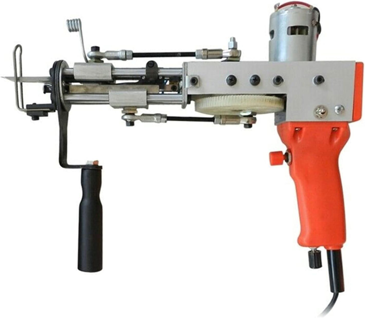 Pistola Eléctrica para Mechones De Alfombras, Máquina De Flocado De Telar De Alfombras, Máquina De Bordado Industrial, Pistola De Pila Cortada, Adecuada para Principiantes