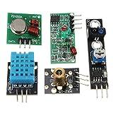 ZHI BEI Lcrzbh Raspberry Pi & Orange Pi 16pcs / Set para RPI Zero W Kit de sensores Kits Módulo Ultrasonic PhotoResisto Tablero de Desarrollo de Alto Rendimiento