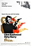 12X8 INCHES Filmposter Dirty Harry, ca. Größe