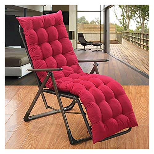 DYYD Egg Chair Cushion Hanging Egg Chair Pads, Patio Garden Wicker Swing Rattan Chair Hammock Chair Seat Cushioning, Indoor Or Outdoor (Red)