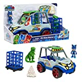 PJ Masks Dino Trouble Off Roader Rescue Vehicle, Includes Dinosaur and Catboy Figures