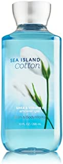 Bath Body Works Sea Island Cotton 10.0 oz Shower Gel