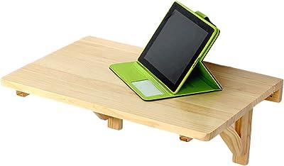 Mesa de escritorio de pared de madera maciza mesa plegable mesa de ...