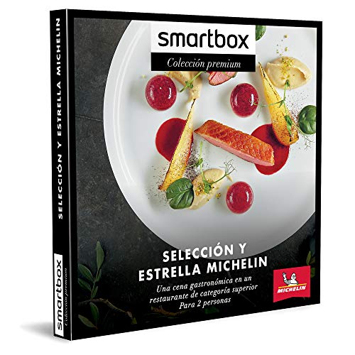 Smartbox - Caja Regalo Amor para Parejas - Selección y Estrella Michelin - Ideas Regalos Originales - 1 Cena gastronómica para 2 Personas