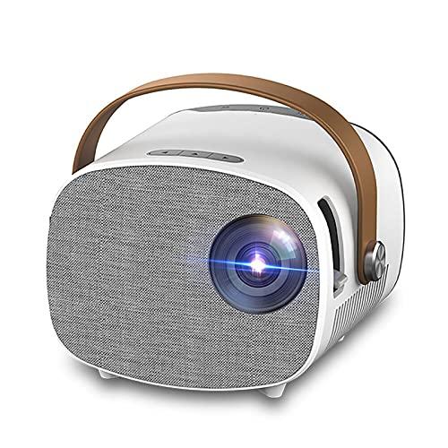 Riiai Mini portátil 640*480 píxeles 1080 p soporte 100 proyector, teléfono móvil inalámbrico antena proyector para cine en casa pantalla de vídeo
