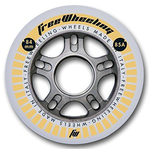 FreeWheeling 4-Pack Ruedas para Patines en línea Race 84mm 1117384