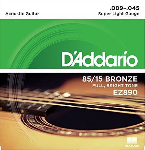 d'Addario EZ890 Set Corde Acustica Ez Great...