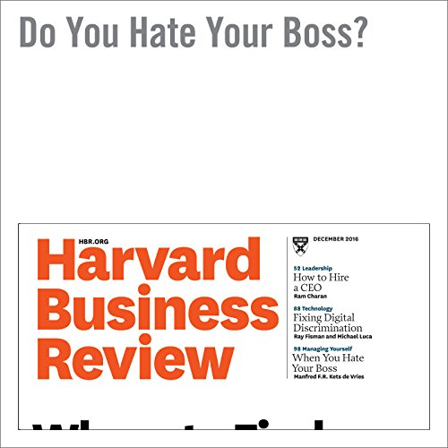 Do You Hate Your Boss? copertina