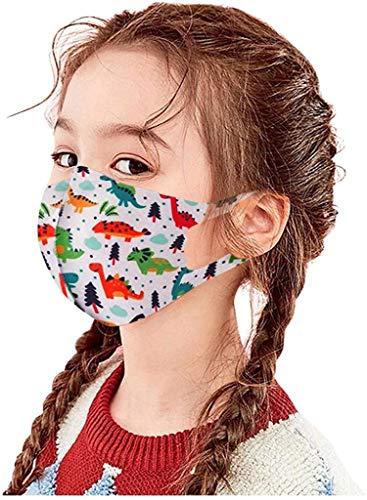 Pañuelos para niños sin marca Màsc con patrón de dibujos animados estampados lavables a prueba de viento para niños estudiantes al aire libre