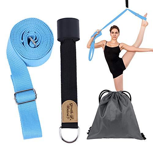 Youth Union Beinspreizer, Dehnungsband für Ballett, Tanzen und Gymnastik (Blau)