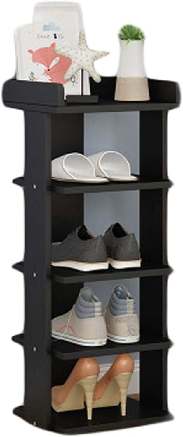 shoes Bench Simple shoes Rack Multi-Layer Storage shoes for Kitchen Living Room Closet Storage Stackable Shelves for Living Room (color   L16S-2, Size   27  25  72cm)
