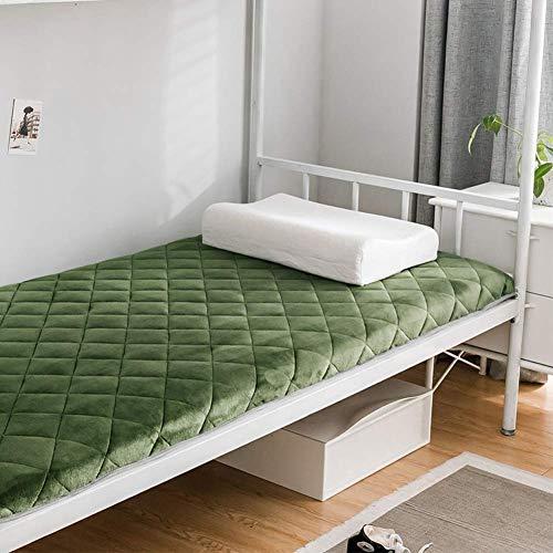GLF Tatami Mat, Japanese Traditional Futon Mattress Multi-purpose Non-slip Folding Mat for Living Room Dorm Mattress C 90x200cm (35x79 inch)