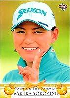 BBM2011 女子プロゴルフカードセット FAIRY ON THE FAIRWAY レギュラーカード No.3 横峯さくら