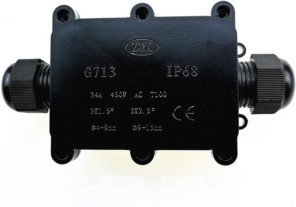 Baugger Scatola di Giunzione Connettori per Guaine Esterne di Protezione per Cavi Interrate Impermeabili Della Scatola di Giunzione Ip68