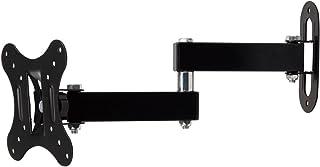 テレビ壁掛け 14-27インチLED LCD コンピュータモニタ4K 液晶テレビ対応 上下左右 角度調節可能 VESA対応 最大100*100mm 耐荷重10kg