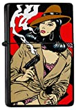 Mechero Lighter Impreso FeliX Pin Up Secret Agent...