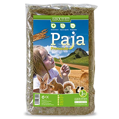 Arquivet alimento roedores - Paja - 1 kg