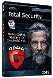 G DATA Total Security 2019 | 3 PCs Standard - 1 Jahr | Windows | Erstklassiger Rundumschutz durch Firewall & Antivirus | Trust in German Sicherheit | Aktivierungscode in Standardverpackung + DVD