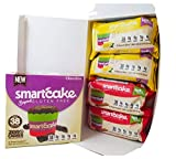 Smartcake Bundle; gluten free, sugar free, low carb, keto snack cakes. 6x twin packs; 2x chocolate 2x lemon 2x cinnamon