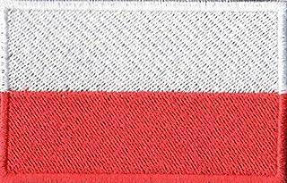 Patch Bordado - Bandeira Da Pôlonia BD50113-225 Fecho de Contato