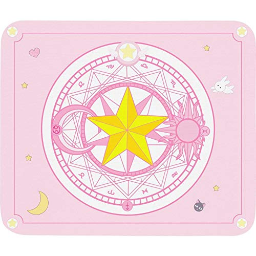 Sailor Moon Anime Large Thick Mouse Pad Game Accessories Desk Pad Pink Gaming Laptop Mouse Pad 10.5x12.5 inch