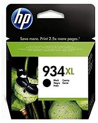 HP C2P23AE 934 Cartucho de Tinta Original de alto rendimiento, 1 unidad, negro