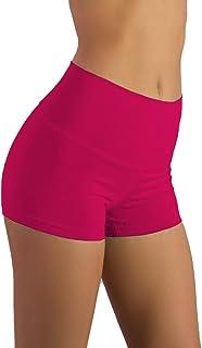 Shorty Short & Scrunchy Combo - High Waisted & Super Comfy – Gym, Dance, Yoga, Aerobics, Cheer, Everyday!