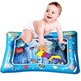 ONG NAMO Tummy Time Baby Water Play Mat Infants Baby Toys, The Perfect Fun time Play Activity Center Your Baby's Stimulation Growth for Your Baby 0 to 24 Months